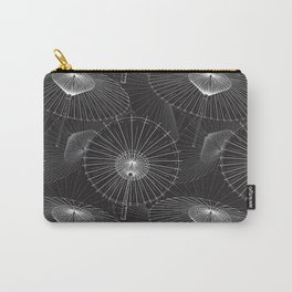 Japanese Umbrella pattern #8 Carry-All Pouch