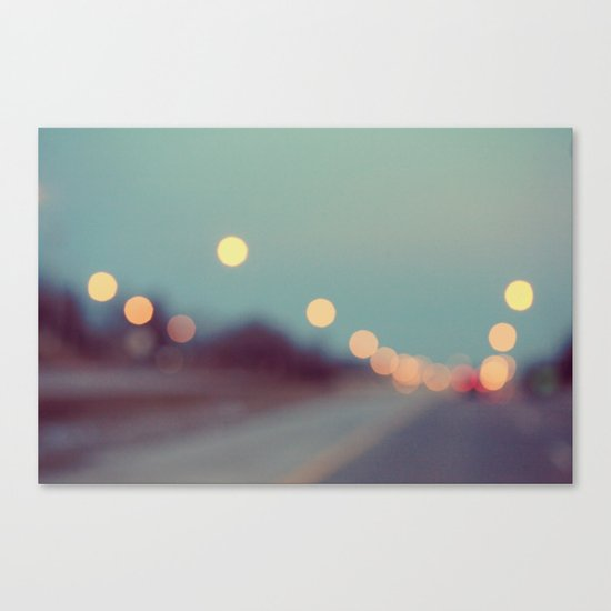 February Shine Canvas Print