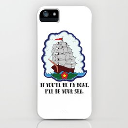 I live to let you shine. iPhone Case