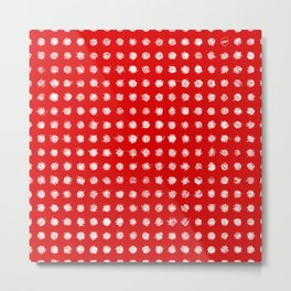Dotted love Metal Print