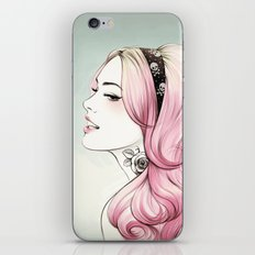 Pink Dye iPhone & iPod Skin