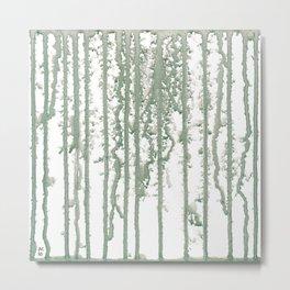 Marble Pathways Metal Print