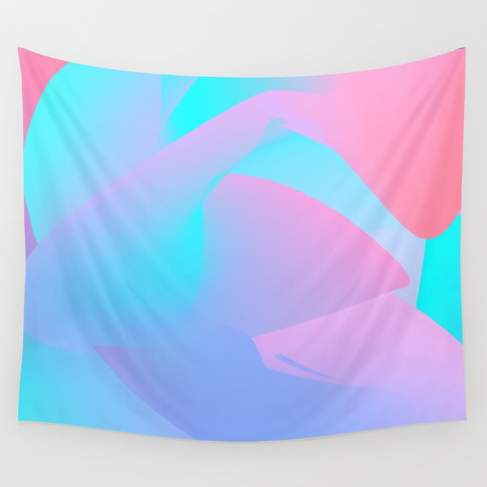 Candied Swirl Wall Tapestry