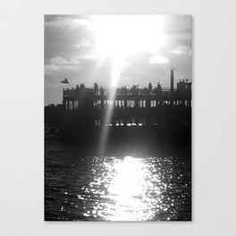 Ferry Boat Canvas Print