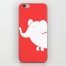 White Elephant iPhone Skin