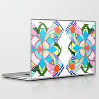 blossom Laptop & iPad Skins featuring Blossom by Heaven7