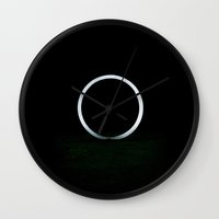 sublime Wall Clocks featuring Sublime by Mark Spence