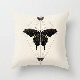 Butterfly Universe Throw Pillow