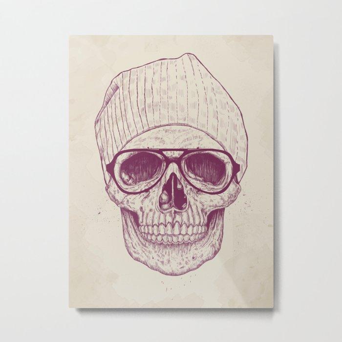 Cool skull Metal Print