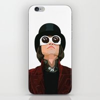 willy wonka iPhone & iPod Skins featuring Willy Wonka by Natalié Art&Living