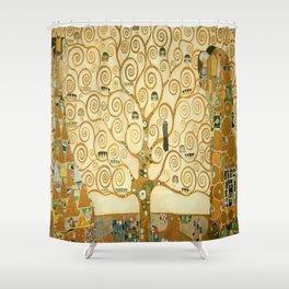 Gustav Klimt - Tree of Life Shower Curtain