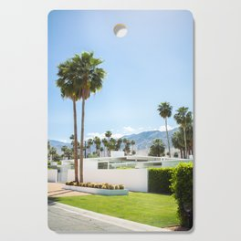 put the palm in palm springs Cutting Board