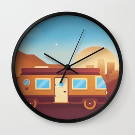 Escape the clutter. Wall Clock