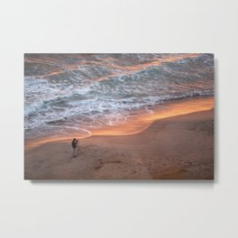 The Sun Rises On The East and Sets On The West Metal Print
