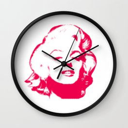 MARILYN POP Wall Clock
