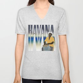 Havana Conguero Unisex V-Neck