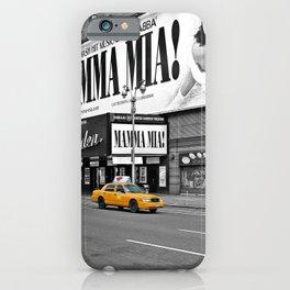NYC Yellow Cabs Mamma Mia - USA iPhone Case