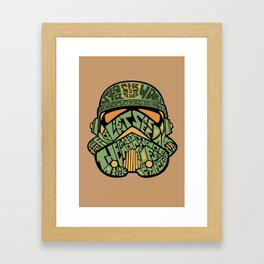 The chief Framed Art Print