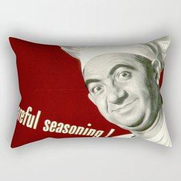 WANNA KNOW MY SECRET? CAREFUL SEASONING Rectangular Pillow
