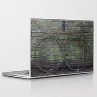 history Laptop & iPad Skins featuring History by Melia Metikos