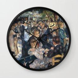 BAL DU MOULIN DE LA GALETTE - RENOIR Wall Clock