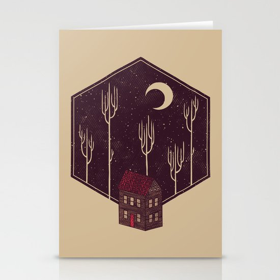 Still Night Stationery Cards