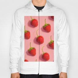 Pink Strawberries Hoody