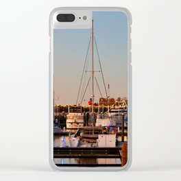 Northern Riverfront Clear iPhone Case