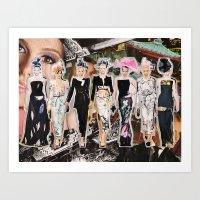 Armani Prive Couture, Fall 2011 Art Print