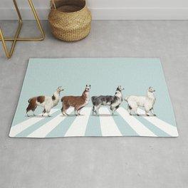 Llama The Abbey Road #1 Rug