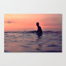 Surfing Cocoa Beach FL Canvas Print