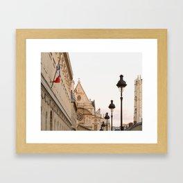 Latin Quarter Framed Art Print