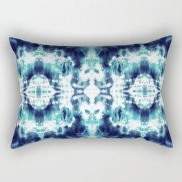 Celestial Nouveau Tie-Dye Rectangular Pillow