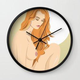 Jungle Girl Wall Clock