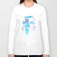 r2d2 Long Sleeve T-shirts featuring R2D2 by sooarts