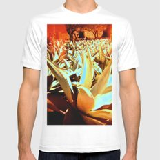 Maguey MEDIUM Mens Fitted Tee White