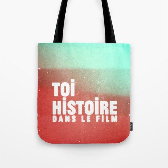 toi histoire dans le film Tote Bag