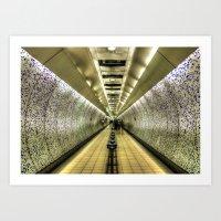 velvet underground Art Prints featuring Underground by Svetlana Sewell