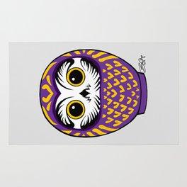Purple Fukuro Daruma Rug