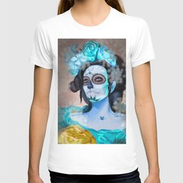 Day of the Dead Blue Longing T-shirt