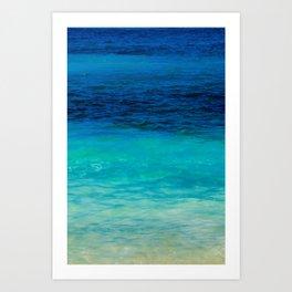 SEA BEAUTY Art Print