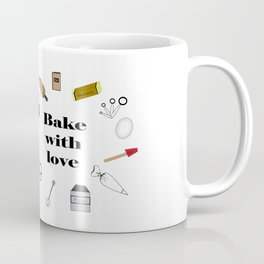 Bake with love Coffee Mug