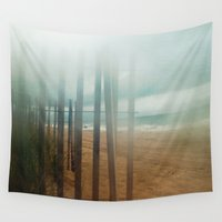 wander Wall Tapestries featuring Wander by Bella Blue Photography