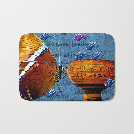 BUTTERFLY LOVE Bath Mat