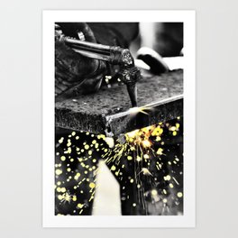 All in a Day's Work Art Print