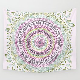 Intricate Spring Wall Tapestry