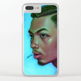 Asian Dude Clear iPhone Case