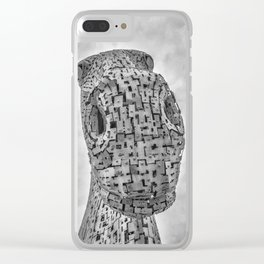 Looking Down. Clear iPhone Case