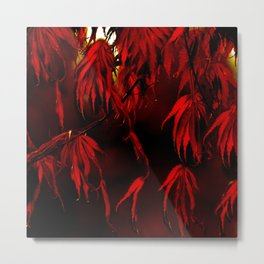 RED, RED AUTUMN Metal Print