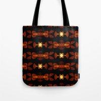 interstellar Tote Bags featuring Interstellar by SuchDesign